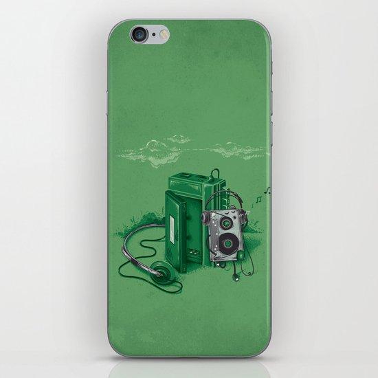 Music Break iPhone & iPod Skin
