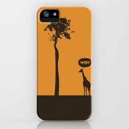 WTF? Jirafa! iPhone Case