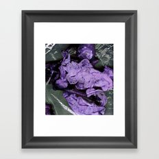 raw Framed Art Print