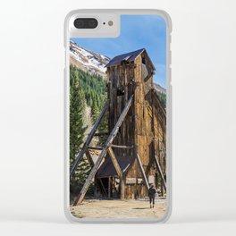 Yankee Girl Mine Colorado Clear iPhone Case