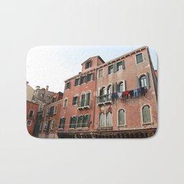 Old Building in Venezia Bath Mat