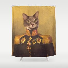 General Bity Bits Portrait Shower Curtain
