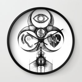 Pillars of Society Wall Clock