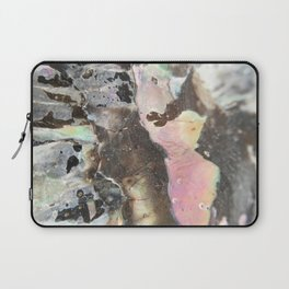Detail of an iridescent seashell Laptop Sleeve