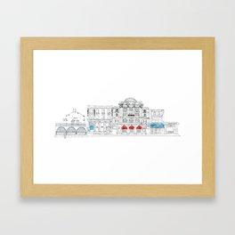 Camden Town Live Framed Art Print