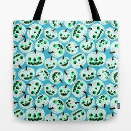 Blue Pumpkins Tote Bag