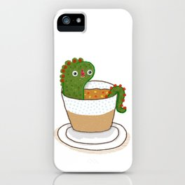 Soup Dragon iPhone Case