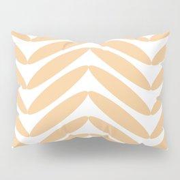 Orange Fronds Pillow Sham