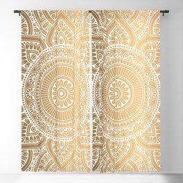 Gold Mandala 3 Blackout Curtain