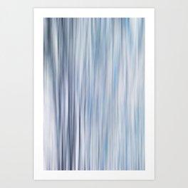 Blured strips pattern Art Print