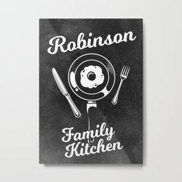 Robinson Family Kitchen Egg Metal Print