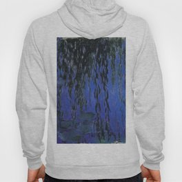 "Claude Monet ""Water Lilies and Weeping Willow Branches"", 1919 Hoody"