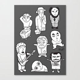 everyday heroes   version Canvas Print