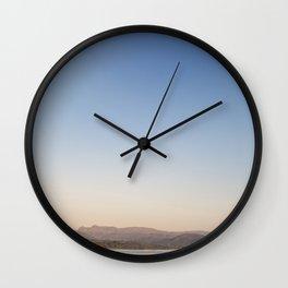 Autumn Sunrise over lake Windermere Wall Clock