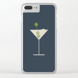 Martini Bianco Clear iPhone Case