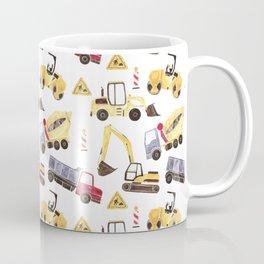 Construction Machines Coffee Mug