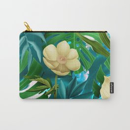 Flowers on the pool Carry-All Pouch
