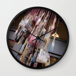 Raining Paint Wall Clock