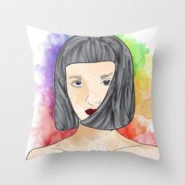 face II Throw Pillow