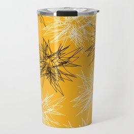 Yellow Squiggles Travel Mug