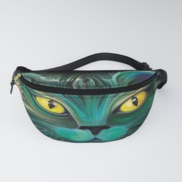 The Emerald Cat Fanny Pack