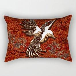 Beautiful, decorative bird Rectangular Pillow