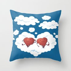 DREAMY HEARTS Throw Pillow