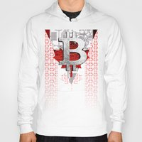 canada Hoodies featuring bitcoin Canada by seb mcnulty