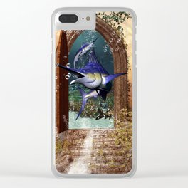 Awesome marlin Clear iPhone Case