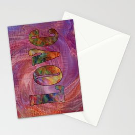 Love 3 Stationery Cards