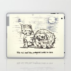 The Owl And The Pussycat Went to Sea Laptop & iPad Skin
