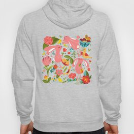 Bunnies in the wild Hoody