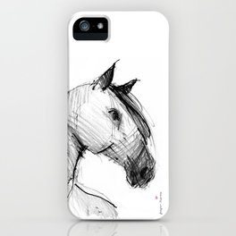 Horse (a head) iPhone Case