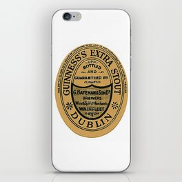 Vintage Guinness Extra Stou Label iPhone Skin