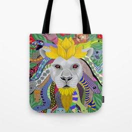 Medusa Lion(ess) Tote Bag