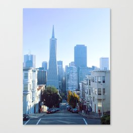 View from Telegraph Hill Canvas Print