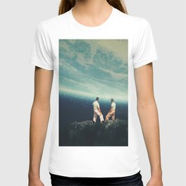 The Earth was crying and We were there T-shirt