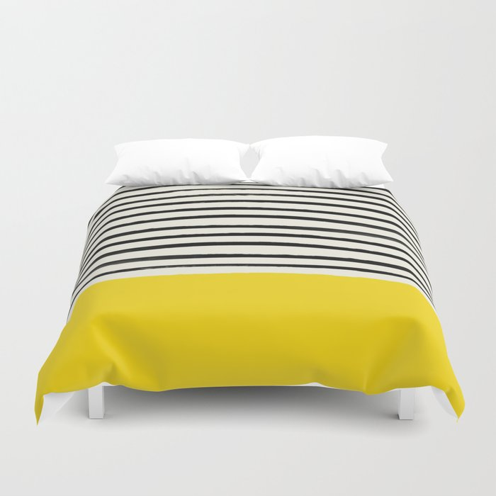 Sunshine x Stripes Duvet Cover