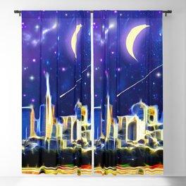 Starry Night San Francisco Blackout Curtain