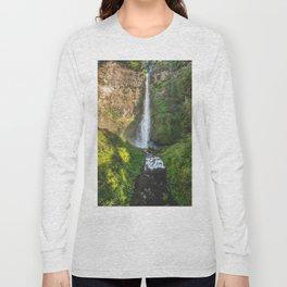 Multnomah Falls Oregon Long Sleeve T-shirt