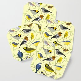 New World Warblers 2 Coaster