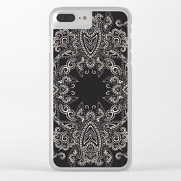 Circle of Strength Clear iPhone Case