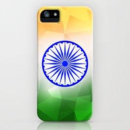 India Flag - Diamond Cut iPhone Case