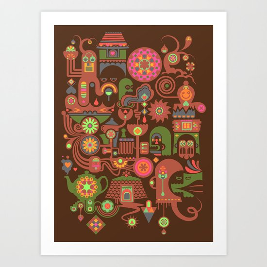 Sugar Machine Art Print