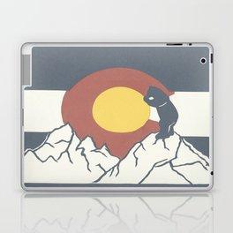 Colorado, the Big Blue Bear and the Rockies Laptop & iPad Skin