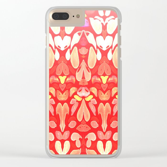 Autumn Fall Sunburn for the Summer Memories Clear iPhone Case