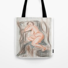 Exhaustion Tote Bag