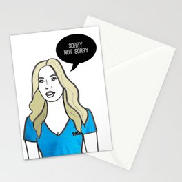 Sorry Not Sorry Stationery Cards