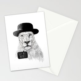 Say my name Stationery Cards