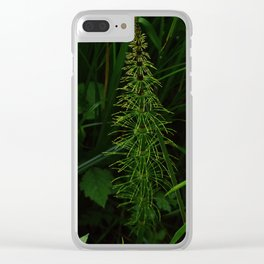 First greenery Clear iPhone Case